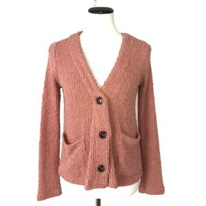 NWT CODEXMODE Knit V-Neck Pocket Cardigan #2